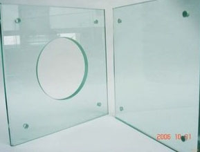 夹胶钢化玻璃